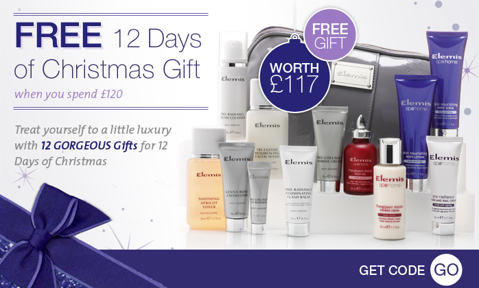 FREE Elemis 12 Days of Christmas Gift