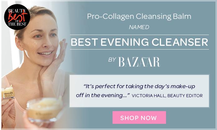 Elemis Pro-Collagen Cleansing Balm Best evening Cleanser at harper's Bazaar Beauty Awards