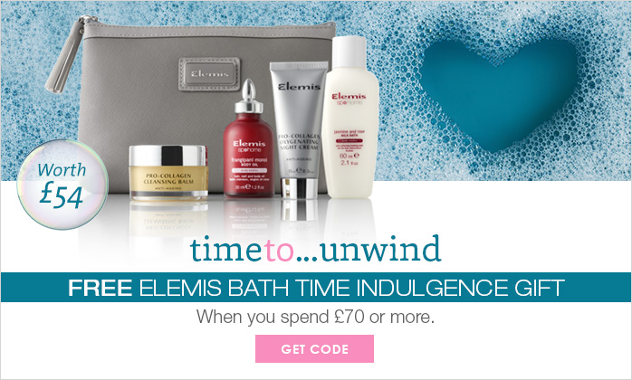 Free Elemis Bathtime Indulgence Gift Worth £54
