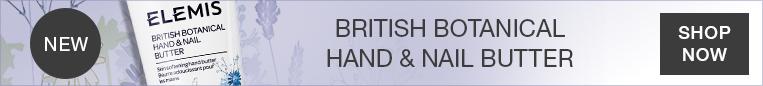 NEW Elemis British Botanical Hand & Nail Butter