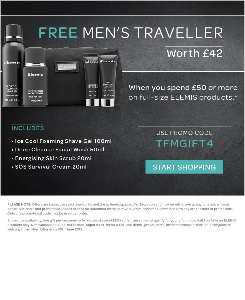 FREE Men's Traveller Worth £42