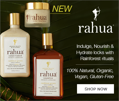 NEW to timetospa - Rahua natural,organicl haircare