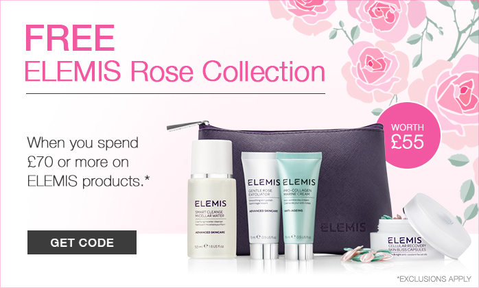 FREE ELEMIS Rose Collection GWP - Worth £55