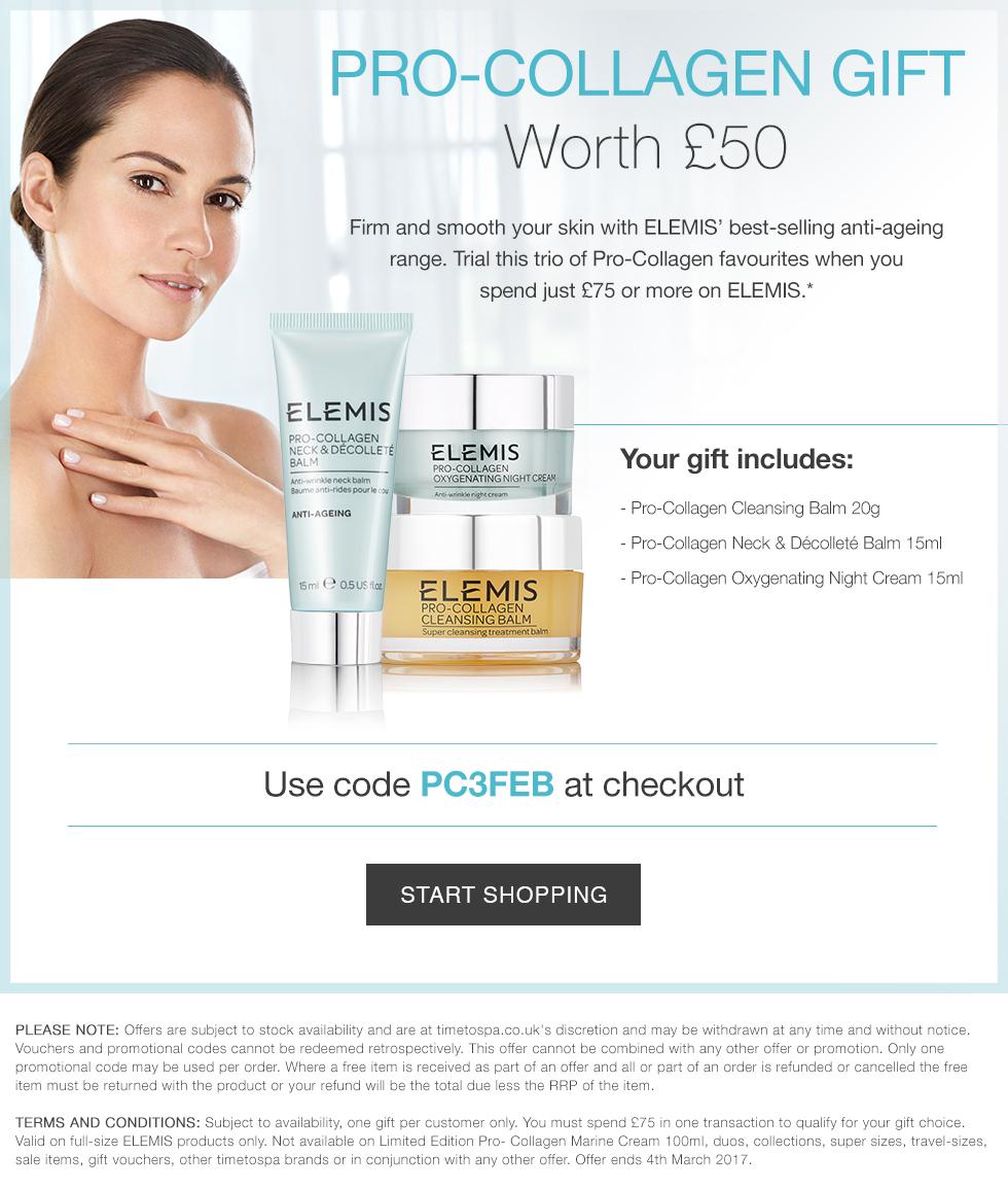 Free Pro-Collagen Gift Worth £50