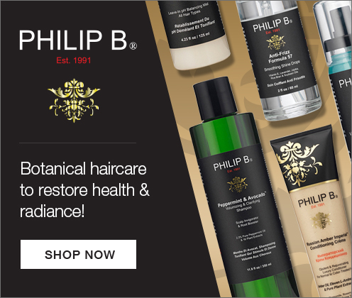 Philip B luxury haircare products