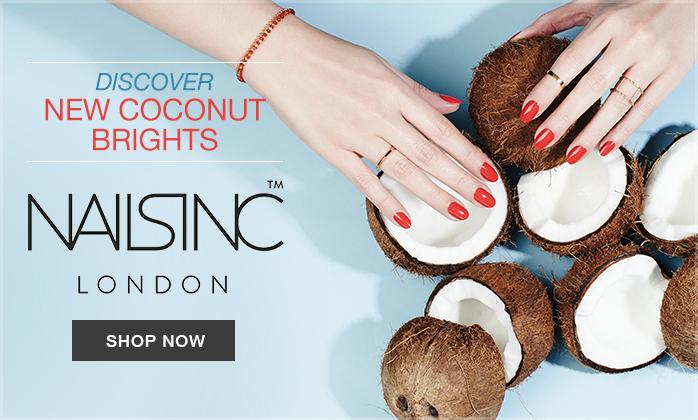 Nails Inc Cocnut Bright Nail Polishes