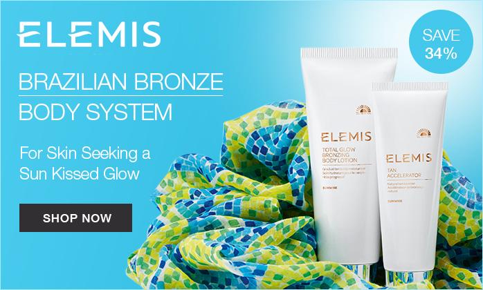 ELEMIS Brazilian Bronze duo self-tanning offer