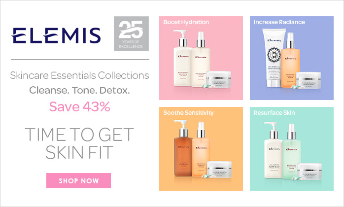 Choose 3 FREE Elemis Travel Sizes - Worth Up To £88
