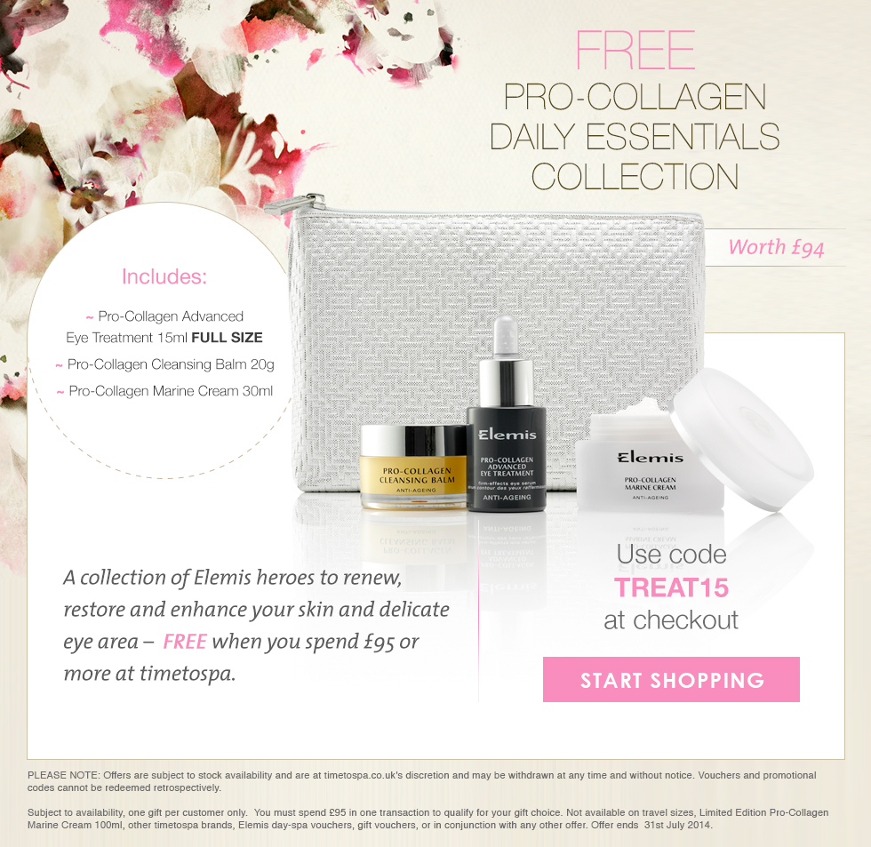 FREE Elemis Pro-Collagen Daily Essentials Collection