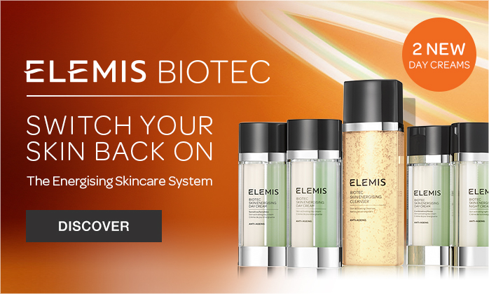 ELEMIS BIOTEC - The New Skin Enerighsing System Has 2 New Day Creams for Sensitive and Combination Skin