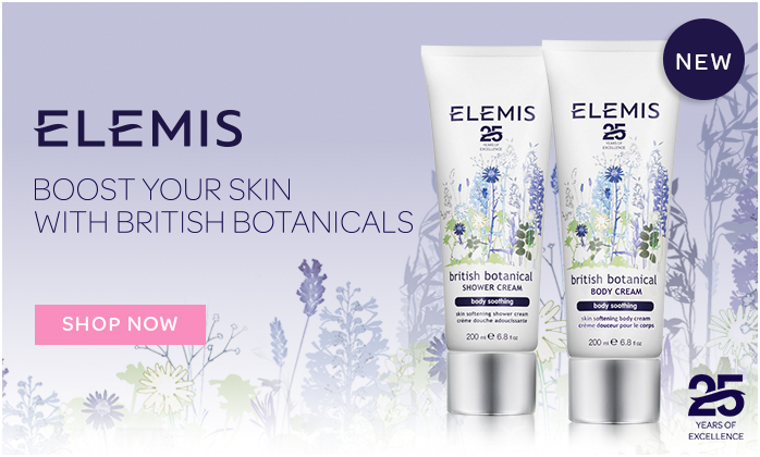 NEW Elemis British Botanical Body Cream