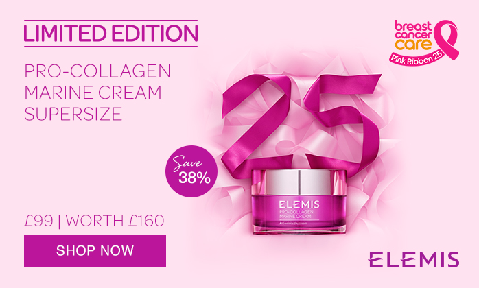 ELEMIS Limited Edition pro-Collagen Marine Cream for Breast Cancer Care