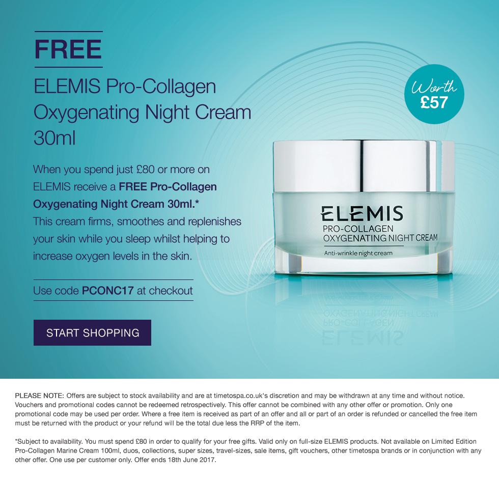 ELEMIS Pro-Collagen Oxygenating Night Cream 30ml GWP