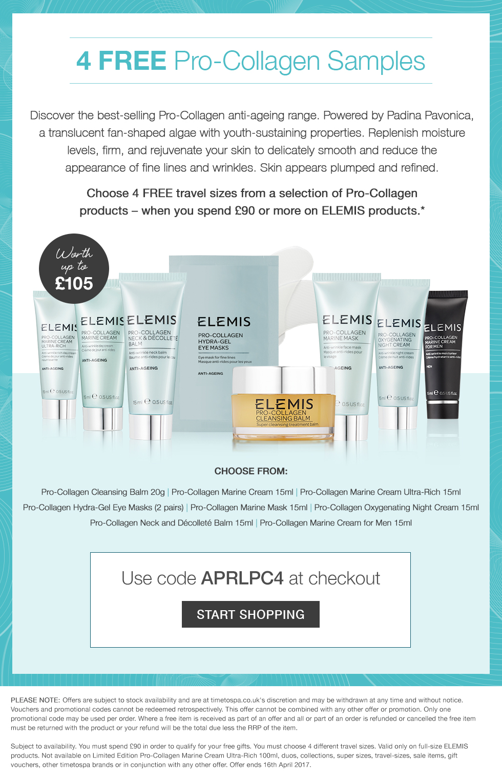 Free Pro-Collagen Gift Worth Up To £105