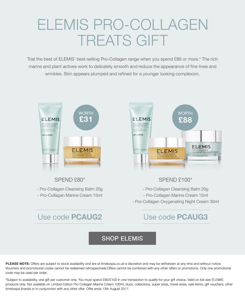 ELEMIS Pro-Collagen Gift - Worth Up To £88