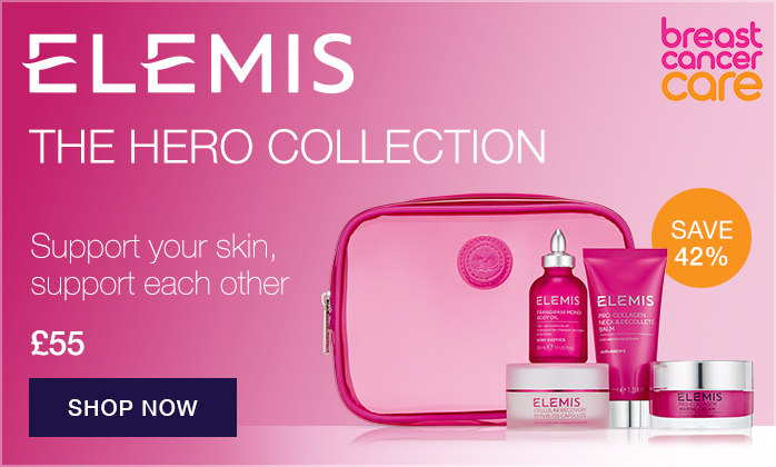 NEW ELEMIS Breast Cancer Care Hero Collection - SAVE 42%