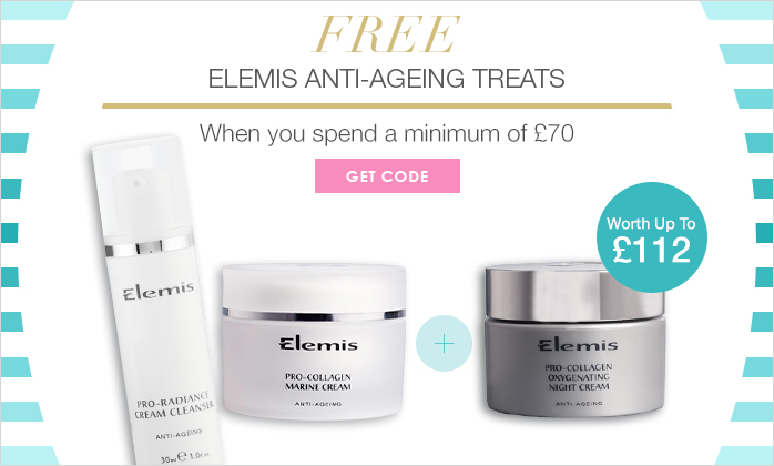 Free Elemis Anti-Ageing treats Worth Up To £112!