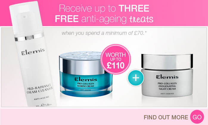 Free Elemis Anti-Ageing Treats