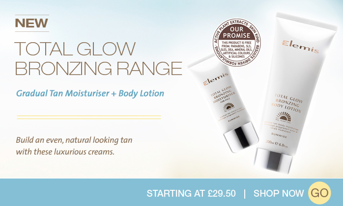 NEW Total Glow Bronzing Range