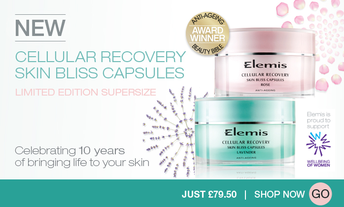 Elemis Cellular Recovery Skin Bliss Capsules Limited Edition 10th Anniversary
