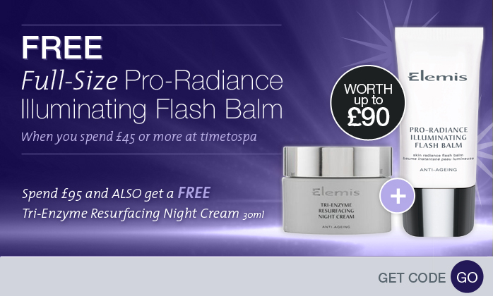 Free Elemis Pro-Radiance Illuminating Flash Balm