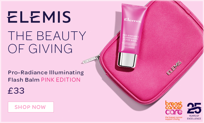 Limited Edition pro-Radiance Illuminting Flash Balm to support Breast Cancer Care