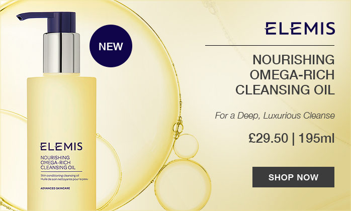 New Elemis products at TimetoSpa UK: Nourishing Omega-Rich Cleansing Oil - Shop Now!