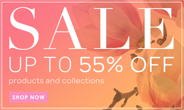 Spring Sale Up to 55% Off