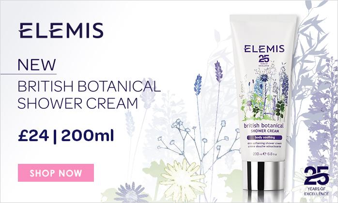 NEW ELEMIS British Botanical Shower Cream