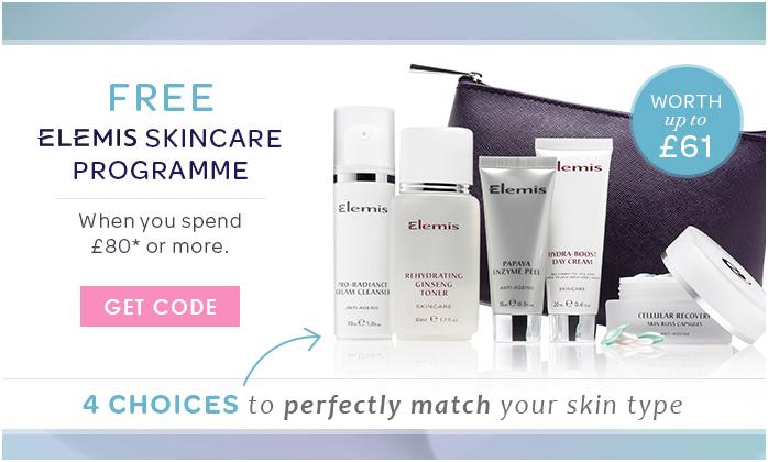 Free ELEMIS Skincare Programme Worth Up To £61