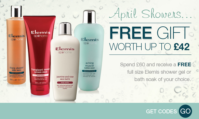 Free Elemis Shower Gel or Bath Soak